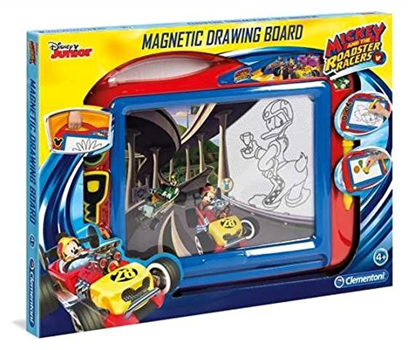 Clementoni 15163 Mickey Magnetic Drawing Board