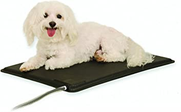 K&H Pet Products Original Lectro-Kennel Outdoor Heated Pad Small Black 12.5