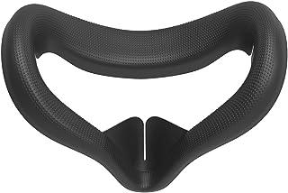 Yatter Masque De Couverture en Silicone pour Visage VR pour Casque Oculus Rift S VR Anti-Transpiration Coussinets De Rempl...
