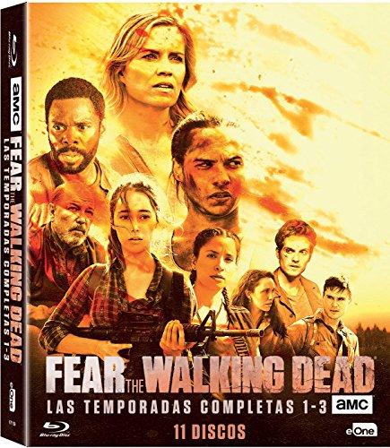 Pack Fear The Walking Dead Temporadas 1 A 3 Blu-Ray [Blu-ray]