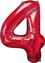 Anagram 28242 Number 0 Gold Foil Balloon 34,