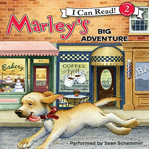 Marley: Marley's Big Adventure audiobook cover art
