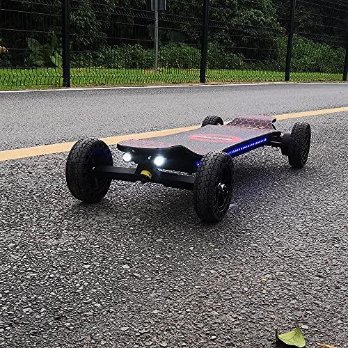 ECOMOBL ET All Terrain Electric Skateboards 30-35MPH Maximum Speed, 2000 W Gear Motor, 15-22 Miles...