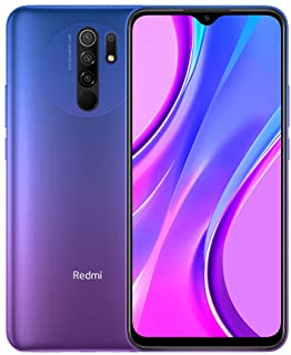 هاتف شاومي ريدمي 9 ثنائي شرائح الاتصال مع مساحة تخزين 32 جيجا، ذاكرة رام 3 جيجا، الجيل الرابع ال تي اي، ارجواني فاتح