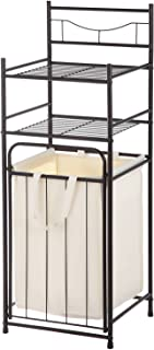 Mainstays`` Bathroom Tower with Hamper, Oil Rubbed Bronze