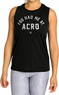 Inner Fire Women's Muscle Yoga Tank Tops – Hand Printed – Soft & Breathable