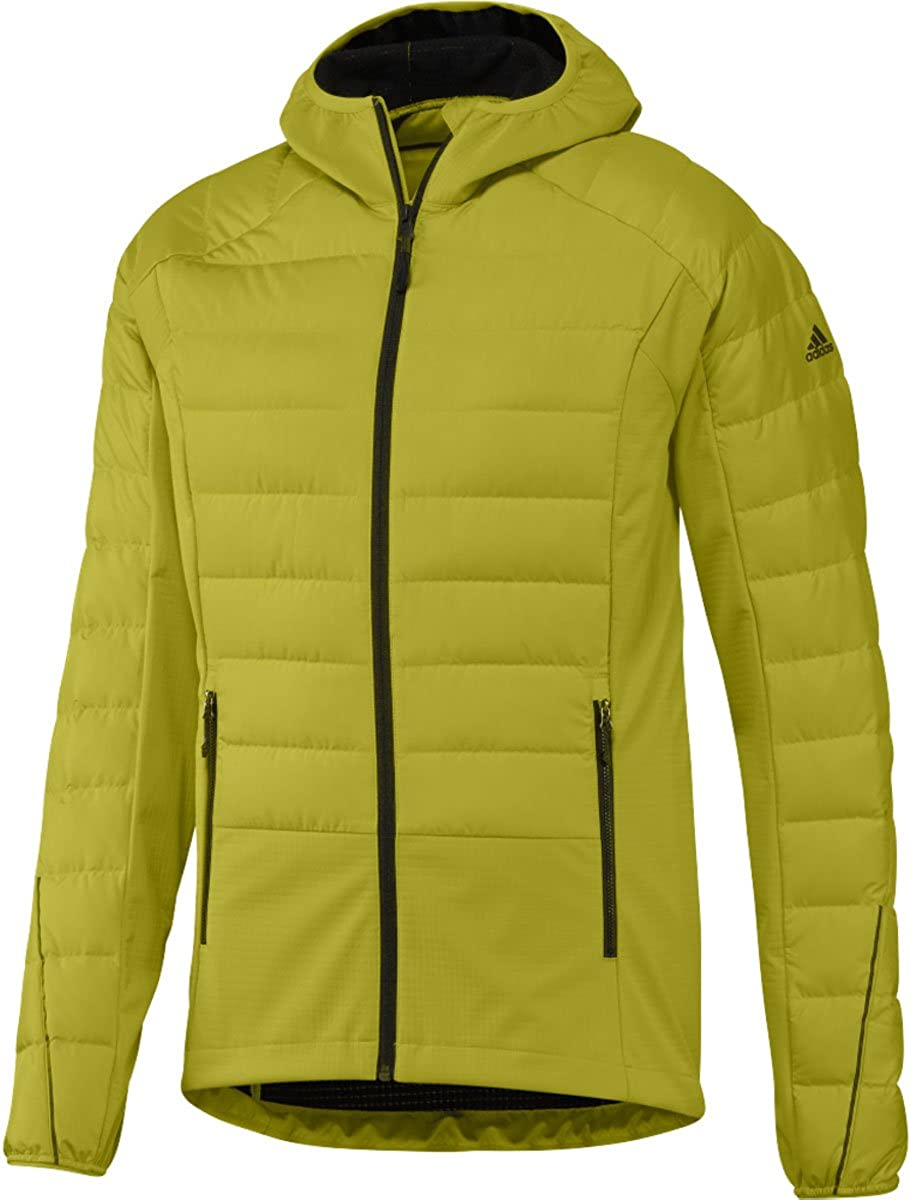 low-pricing adidas outdoor Men's Max 82% OFF Down Hybrid Jacket