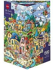 Happytown Puzzle: 1500 Teile