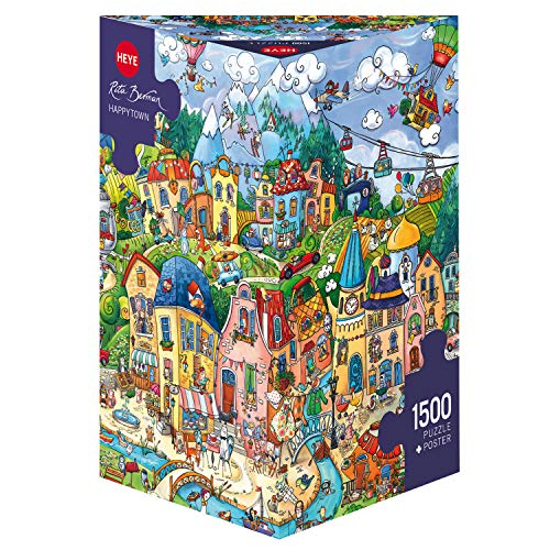 HEYE 29744 Puzzle, Mehrfarbig