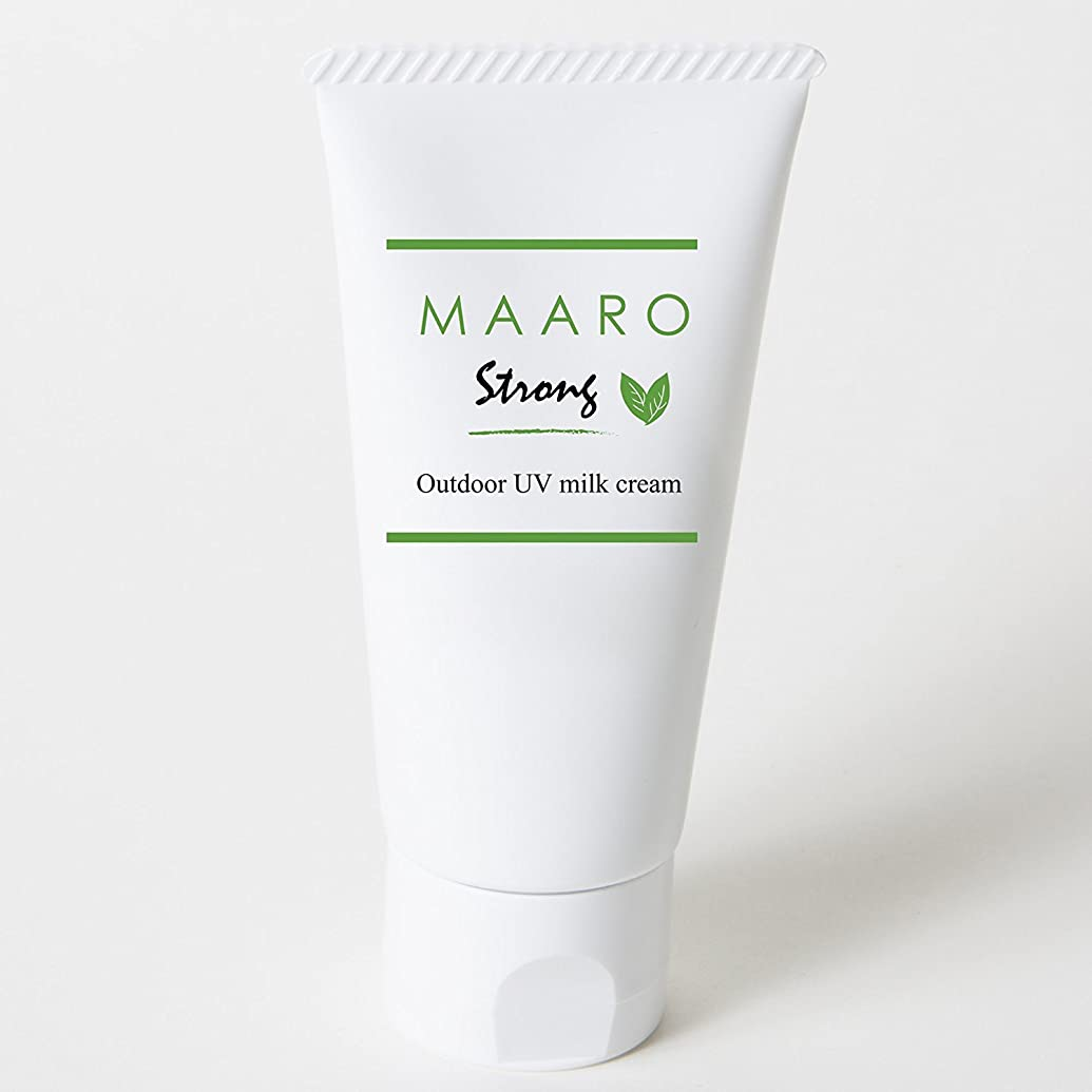 のかんがいあさりMAARO Strong(マアロストロング)アロマミルククリーム SPF30、PA+++ 60ml