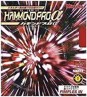 ニッタク(Nittaku) 卓球 ラバー ハモンド プロアルファー 裏ソフト 高弾性 NR-8528 レッド 厚