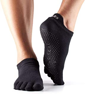 Toesox, Full Toe Low Rise Calcetines de Yoga Unisex adulto