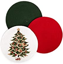 Homewear Harmony 16 Red Round Placemat