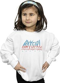 DC Comics Girls Batgirl American Logo Sweatshirt