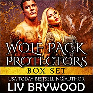 Wolf Pack Protectors Box Set                   By:                                                                                                                                 Liv Brywood                               Narrated by:                                                                                                                                 Beth Roeg                      Length: 14 hrs and 21 mins     44 ratings     Overall 4.2