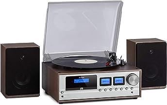 auna Oxford Vintage Edition - Equipo de música estéreo