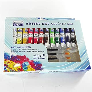 Acrylic Colors and Drawing Tools Kit