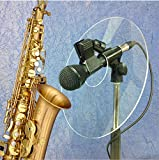 Soundback SOUND BACK Model 2 CLIP ON SAX Panel - acoustic monitor sound reflector