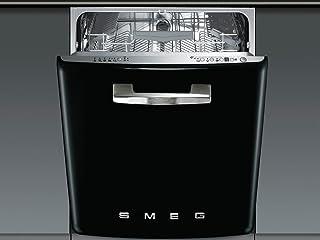 Smeg ST2FABNE2 Bajo encimera 13cubiertos A+++ lavavajilla - Lavavajillas (Bajo encimera, Negro, Acero inoxidable, Botones, Acero inoxidable, 13 cubiertos)