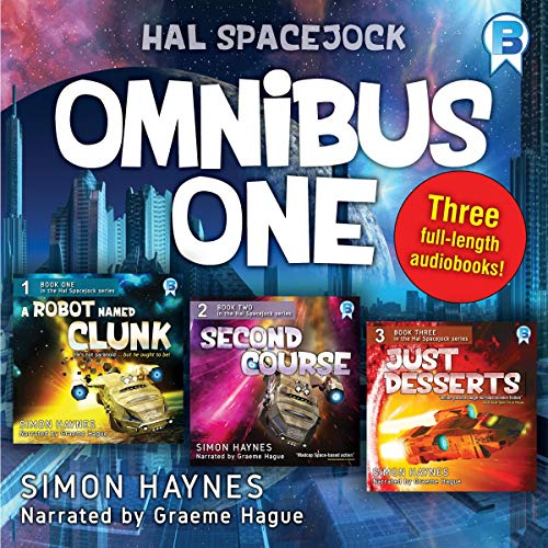 Hal Spacejock Omnibus One audiobook cover art