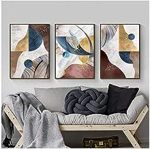 Zhaoyangeng Moderne abstracte kunstdrukken op canvas, Scandinavische stijl, decoratieve wandafbeeldingen voor woonkamerdec...