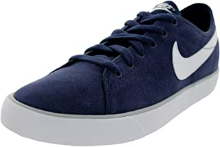 NIKE Mens Primo Court Leather #644826-410 (Md Nvy/Smmt Wht/Wht Wlf Gry)