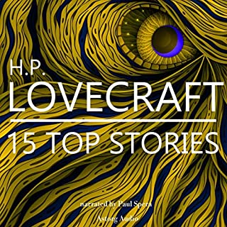 15 Top Stories by H. P. Lovecraft cover art
