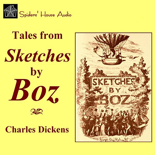 Sketches by Boz audiobook cover art