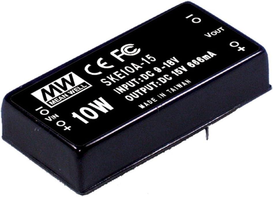 MEAN WELL SKE10A-05 5V 200~2000mA 10W DC-DC Regulated Single Output Converter DC/DC Converter