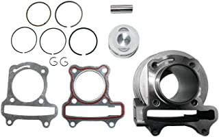 MYK Complete Cylinder Kit 80cc 47mm Piston - Scooter Moped ATV GY6 50cc 139QMB Upgrade to 80cc