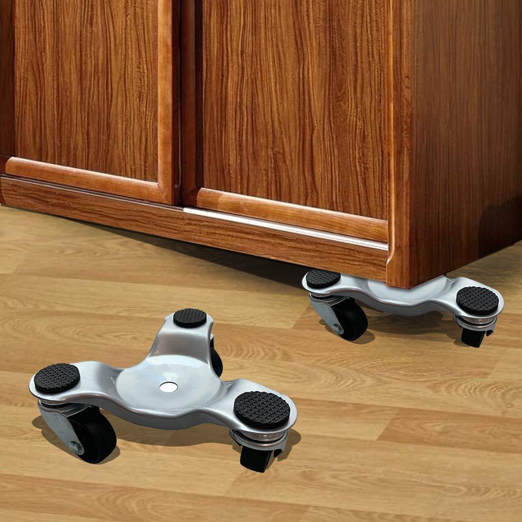 Move Furniture Tool Rodillo de extracci/ón deslizante para rueda de cambio de transporte