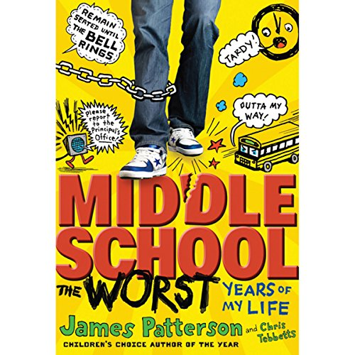 Middle School: The Worst Years of My Life audiobook cover art