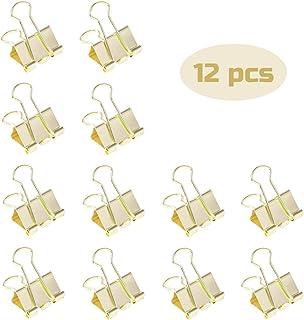 Foto articoli per ufficio HIFOT 40pcs Molle Fermacarte Double Clip Emoji Sorriso 19mm 160pcs Carta Colorata Clip Fermagli in Metallo Graffette Clip per Raccoglitori Multicolore per documenti