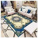 GUOCU Alfombra De Salón Clásico Oriental Floral Diseño,Vistoso39,40x60cm