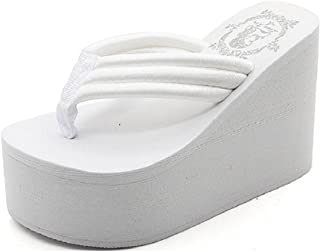 Women's Flip Flops Wedge Sandals Platform Thongs