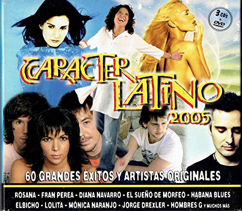 Caracter Latino 2005 (3Cds+Dvd)