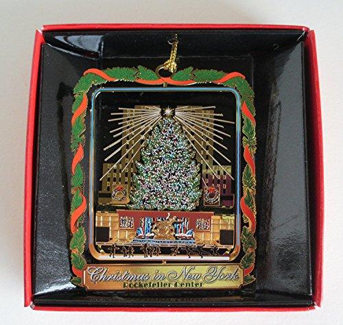Nations Treasures Rockefeller Center Christmas Tree New York City ORNAMENT Souvenir Gift