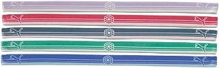 New Women's PUMA 5-Pack Mini Elastic Headbands Assorted Colors