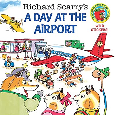 Fun and educational, Richard Scarry books are packed with details. Try A Day at the Airport