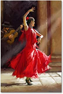 Best spanish dancer art Reviews