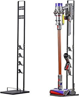 InMalla Freestanding Vacuum Stand Rack Holder Accessories Docking for Dyson V6 V7 V8 V10 V11 Handheld Stick Cordless Vacuu...