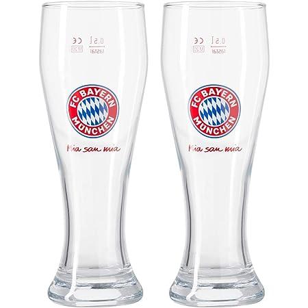 Sticker M/ünchen Forever 2er Set Bierglas Triple Sieger Bayern M/ÜNCHEN Halbeglas Pokalsieger Deutscher Meister Pokalsieg 2020