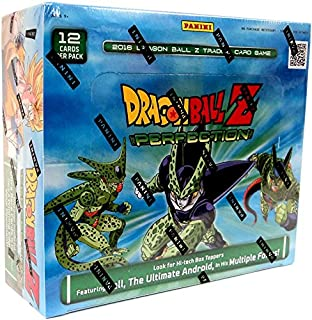 DBZ Dragonball Z Perfection Booster Box TCG 2016 Trading Card Game - 24 packs / 12 cards
