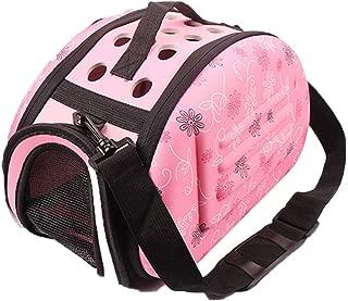 Boutique-girl Outdoor Portable Pet Breathable Space EVA Cat Dog Backpack Folding Travel Shoulder Bag Cat