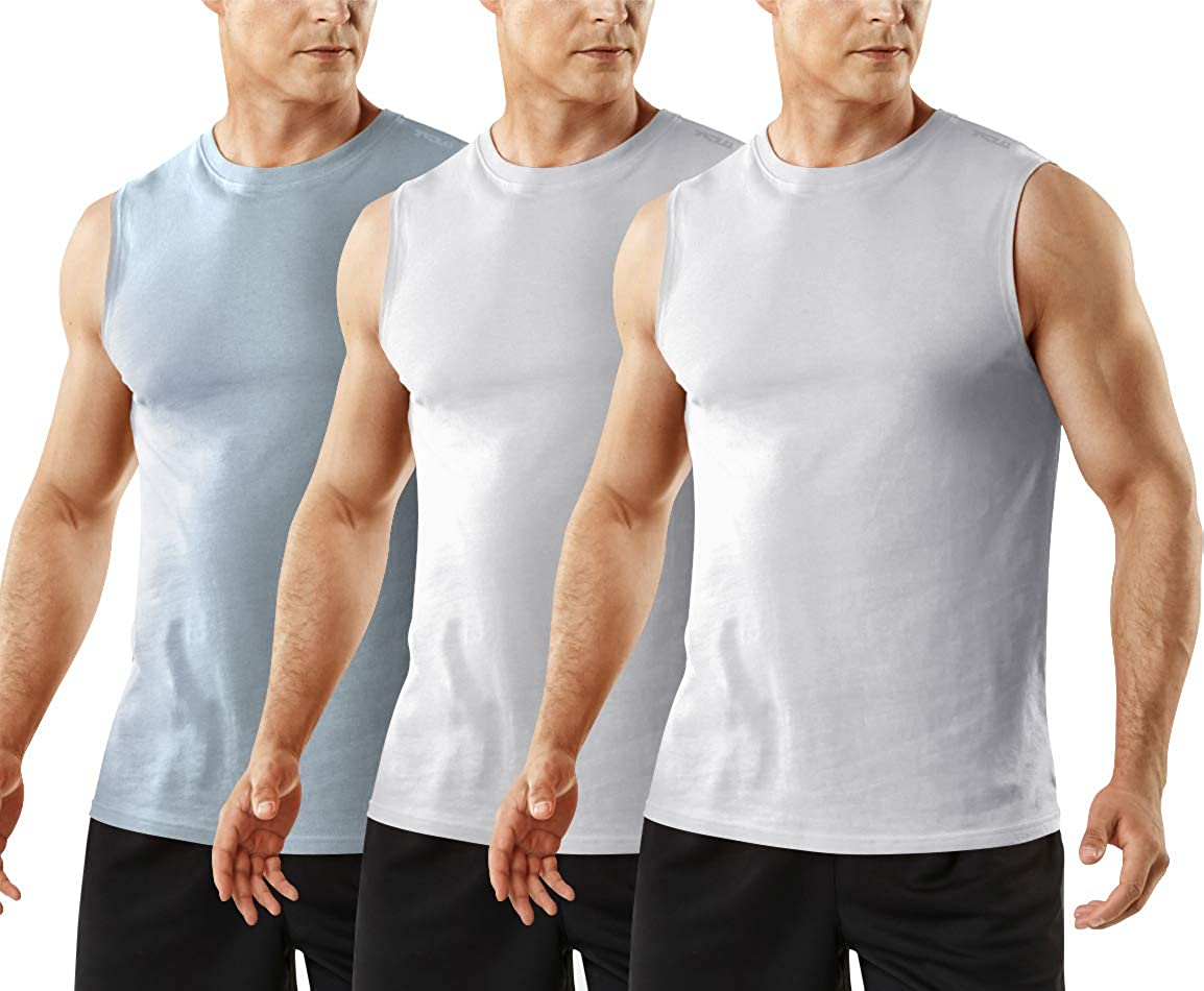 TSLA 1 or 3 Pack Men's Running Limited time sale Max 71% OFF Performance Tank Top Sleeveless
