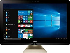 ASUS Zen AIO Pro Z240IEGT-16 All-in-One Desktop 23.8in IPS, 4k UHD Touch i7-7700T 12GB DDR4 1 TB + 128GB SSD Wireless Keyboard and Mouse, Win 10 Home (Renewed)