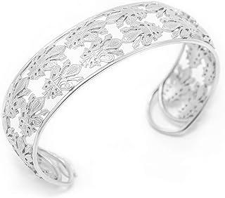 Bracciale in argento con gigli