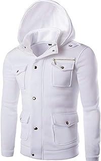 Cappotto da Uomo Cappotto di Capispalla Cappotto da Uomo Abbigliamento Cappotto Vintage Classico da Uomo Cappotto Sportivo...