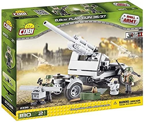 COBI Small Army 8.8cm FLAK Gun 36 37 Building Kit by COBI