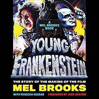 Young Frankenstein: A Mel Brooks Book audiobook cover art